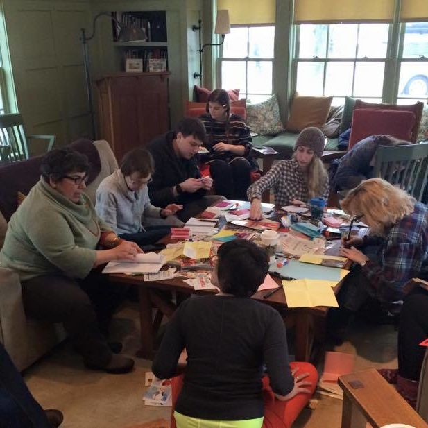 Feminist Zine workshop! 1/12/16