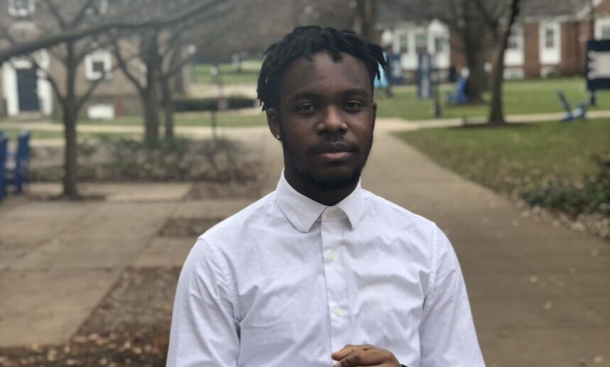 """""""Reaching out and being vulnerable… that was new for me,"""" said junior Osa Ibude."""