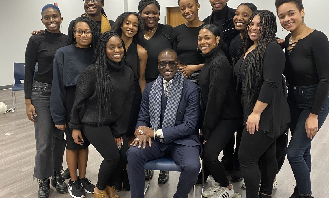 "The Black Student Union brought Dr. Yusef Salaam to speak at Common Hour on February 26, 2020. Dr. Salaam was one of the five men falsely accused of a crime and spent seven years imprisoned. Dr. Salaam and the other men accused are the focus on Ava DuVernay's Netflix Series ""When They See Us"""