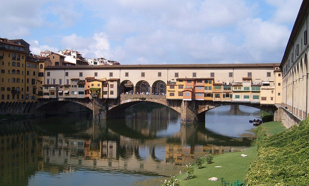 Ponte Vecchio in Florence, Italy, a bridge that has never been too far for F&M students studying Italian.