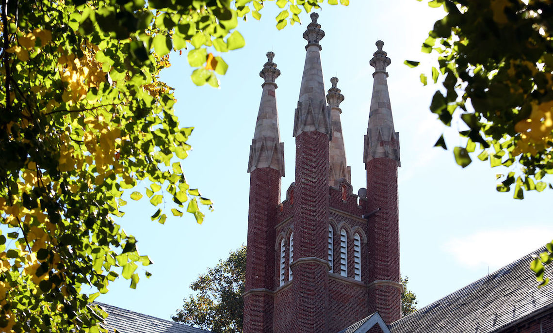 Homecoming & Family Weekend brought clear, sunny weather to the Franklin & Marshall campus.