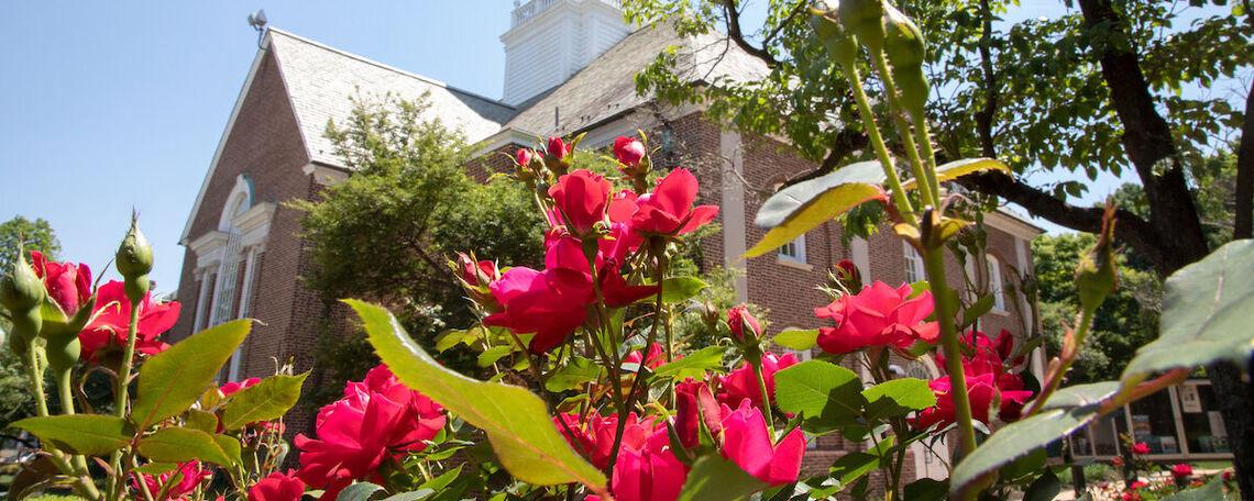F&M campus in Spring