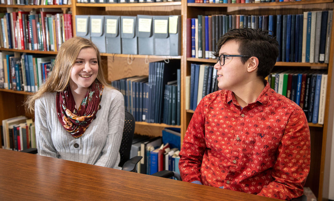 As F&M's 2019 Rouse Scholars, Lydia Shaw and Glory Jacquat have powerful ideas about leadership, life and helping lift the voices of the unheard.