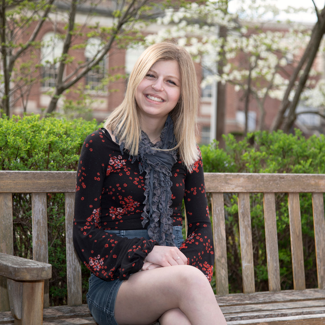 """The 2019 Arleen """"Cookie"""" Faust Prize for Humor Writing is awarded to Kyra Lisse '22."""