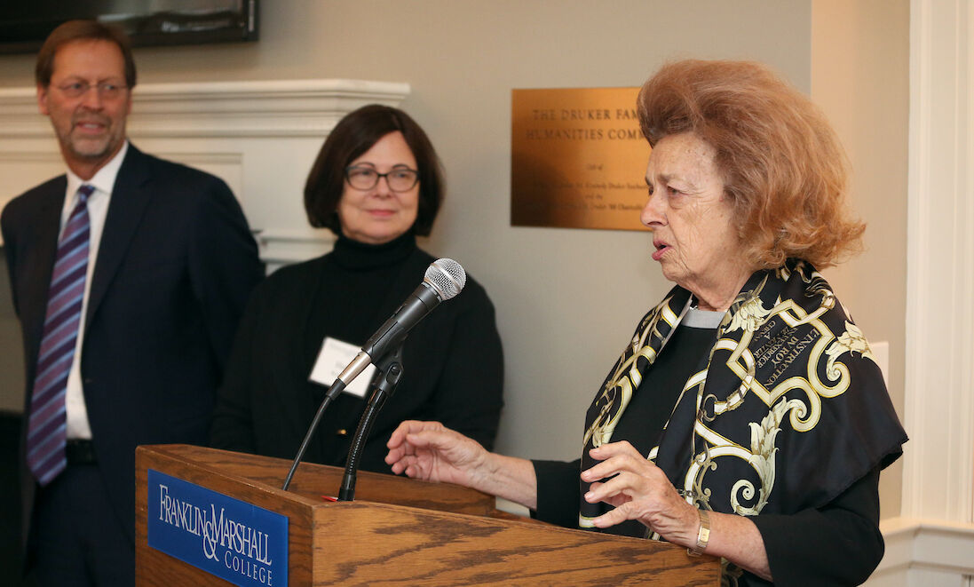 """Honorary degree recipient Beverly """"Peggy"""" Steinman."""