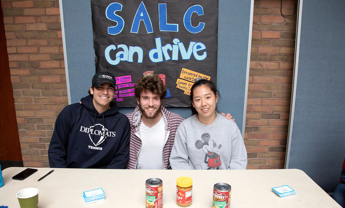 The Student-Athletic Leadership Council conducted a canned food drive …