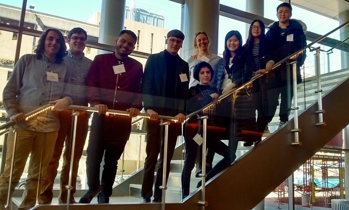 F&M students immersed themselves in math for a day with a field trip to the EPaDel  spring meeting at Temple University. EPaDel is the section of the Mathematical Association of America which covers eastern Pennsylvania and Delaware.  The upcoming Fall 2018 meeting will be held in November at West Chester University.