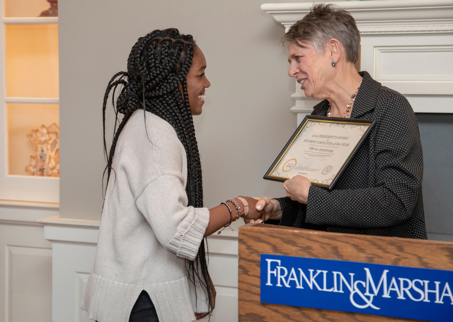 4.10.19 student employee of the year  - Olyvia Armstrong