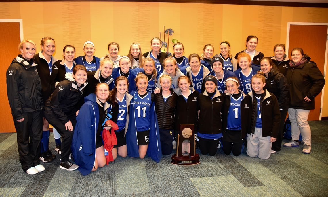 F&M's field hockey team, Division III semifinalists, battled Middleburg College before dropping in overtime.