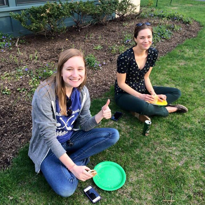 The Writers House end of the year barbecue 4/22/15