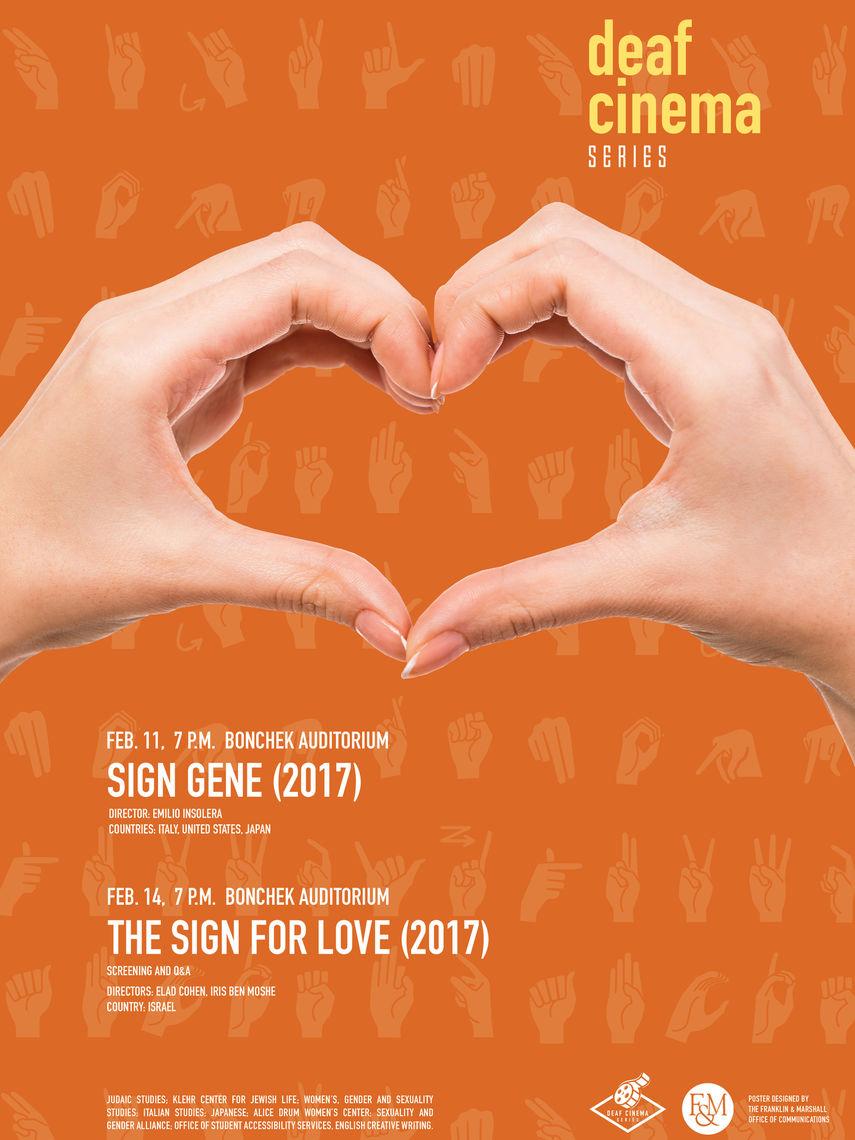 Deaf Cinema Poster