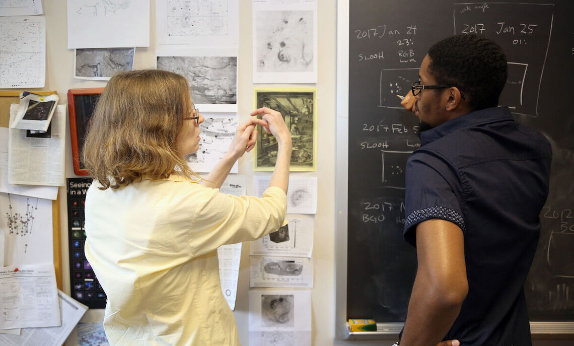 Physics Hackman summer research