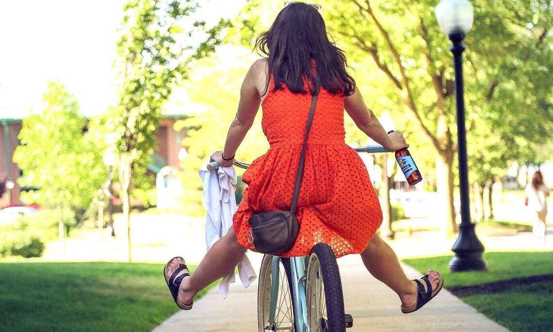 Happy bike rider!