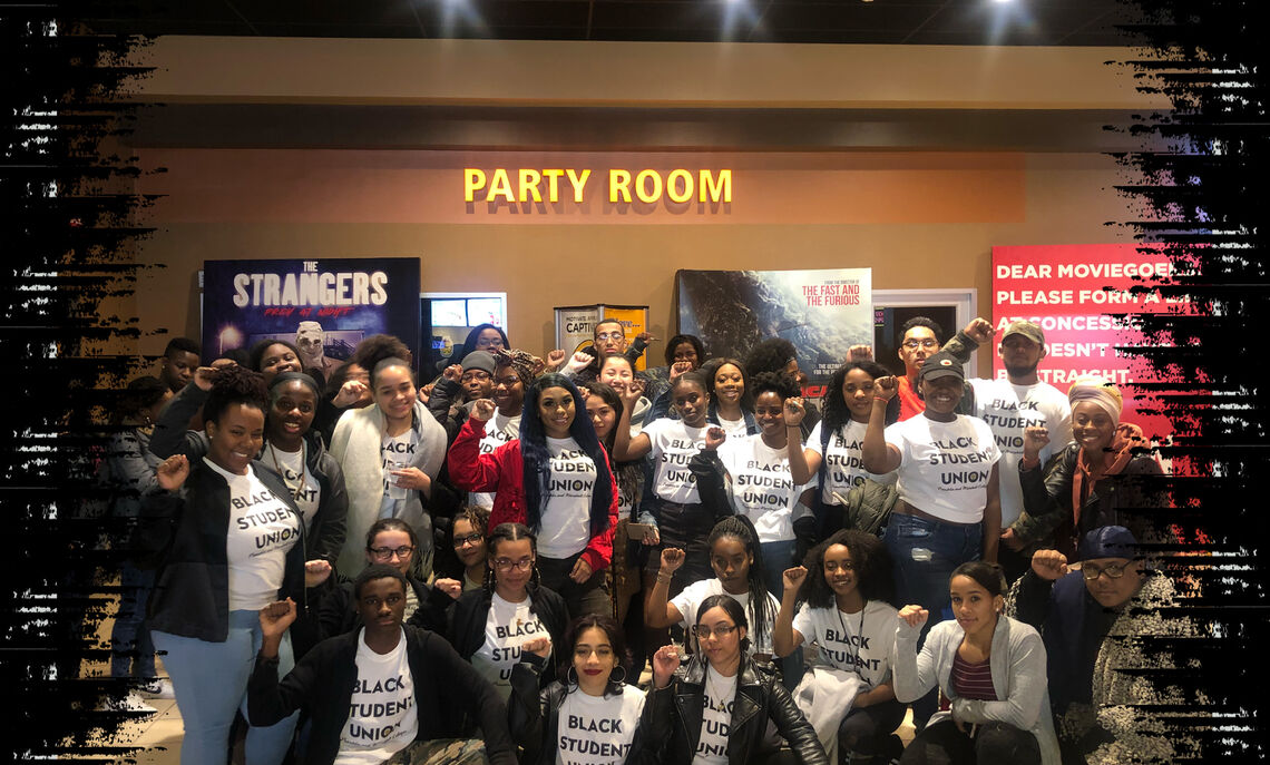 The Black Student Union purchased tickets and provided transportation for students to watch the Black Panther when the movie was in theaters.
