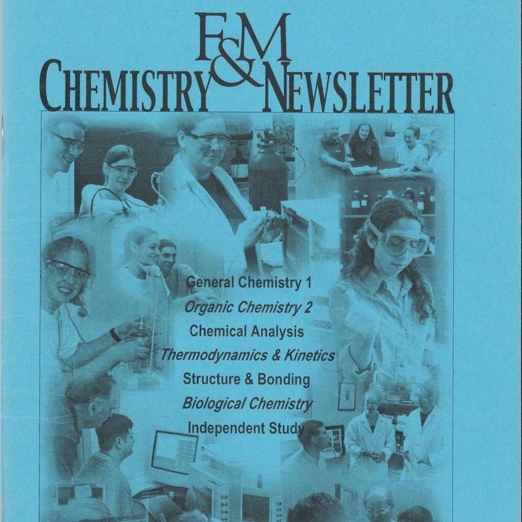 2002 Chemistry Newsletter Cover