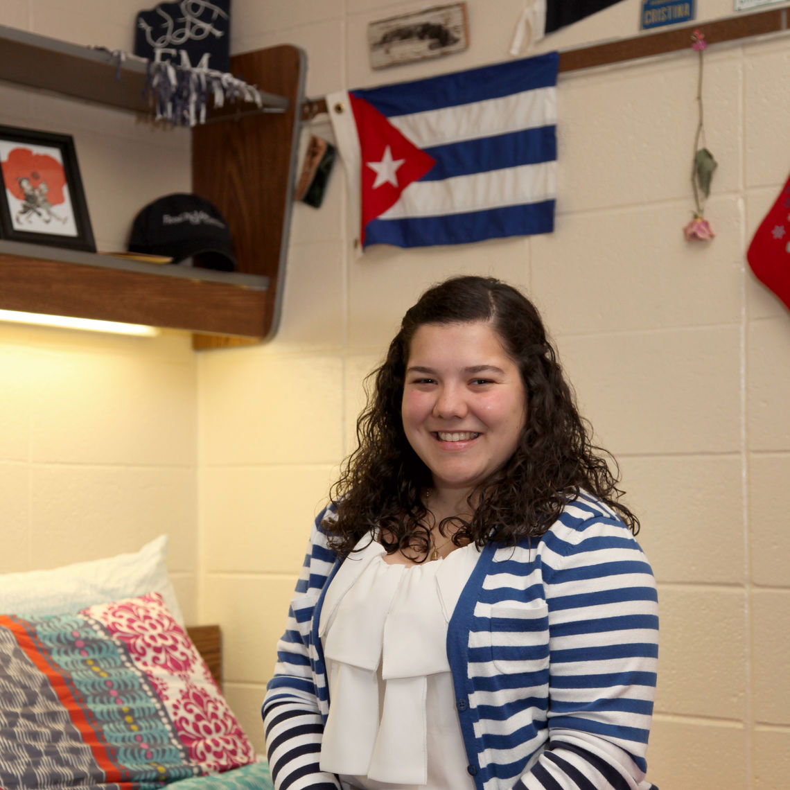 F&M's new Student Success Coordinator Cristina Diez.