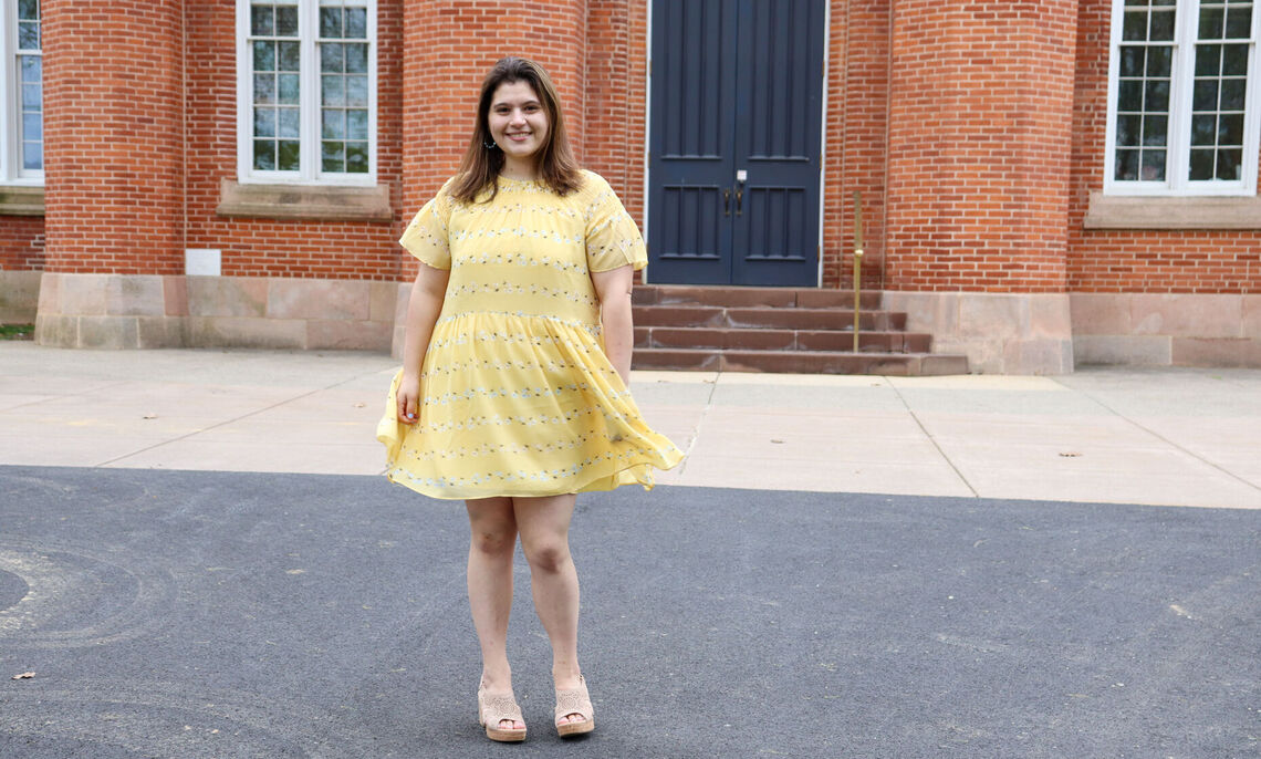 """""""It makes it a lot easier to learn knowing that this a safe space for me to be in,"""" said Nicole Olarsch '21."""