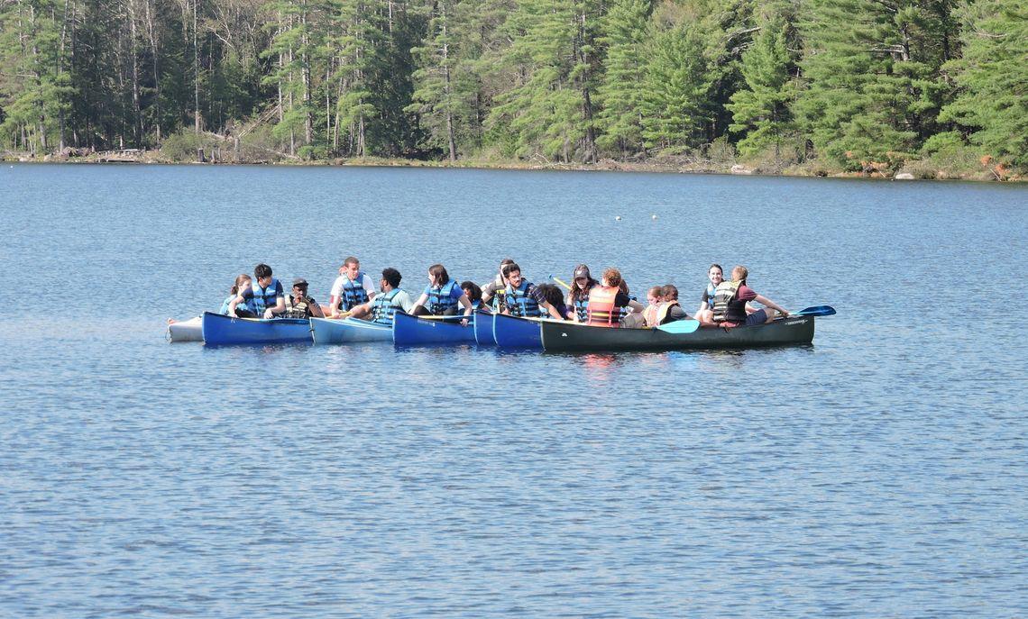 Canoe armada
