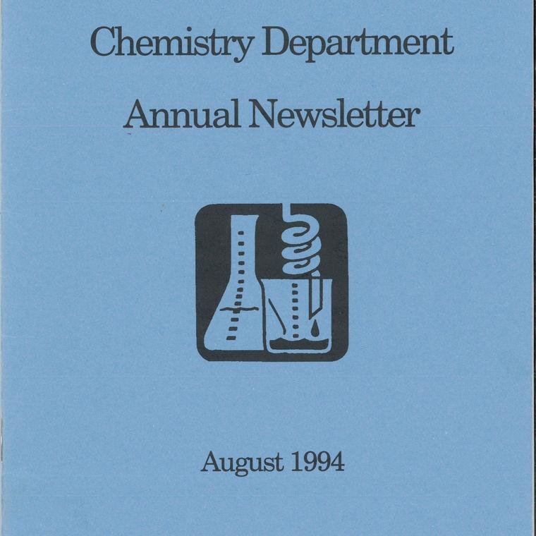 1994 Chemistry Newsletter Cover
