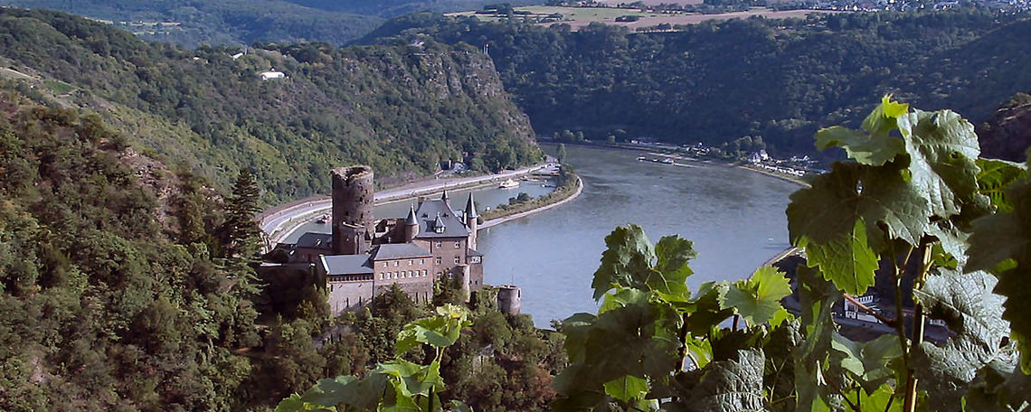 Summer in the Rhine Valley of Germany