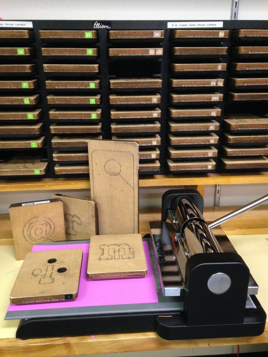 SCC Edison Letter Cutters