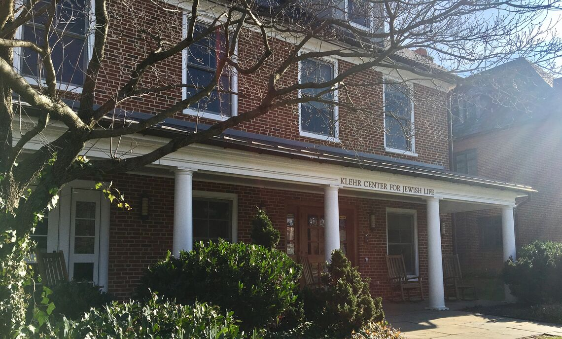 The Klehr Center for Jewish Life is home to Hillel, a Jewish student organization, and includes space for devotion and a kosher kitchen.