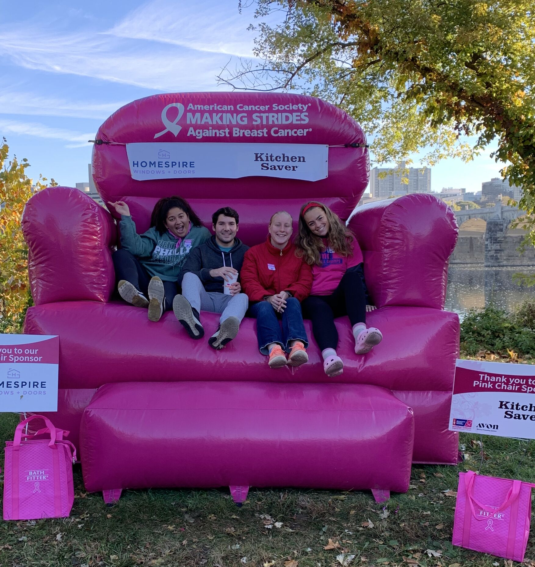 making strides breast cancer walk