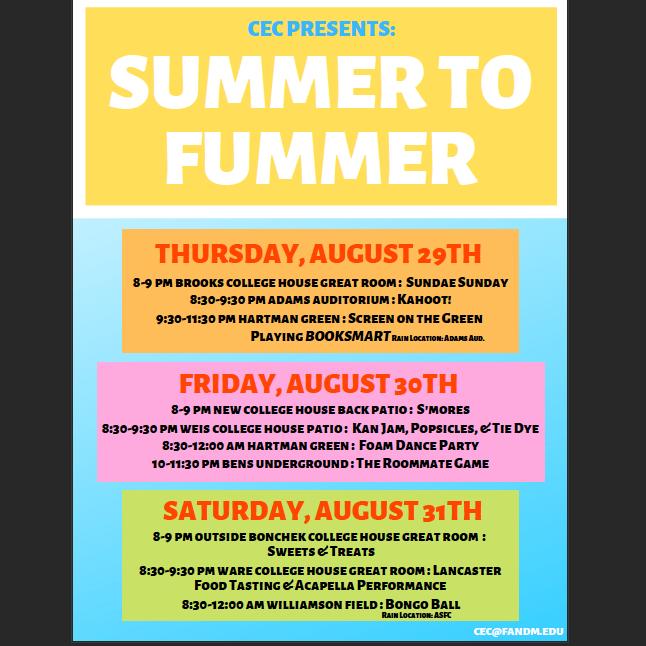 Summer to Fummer 2019