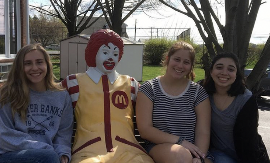 Group volunteering at the Ronald McDonald House in Spring 2019
