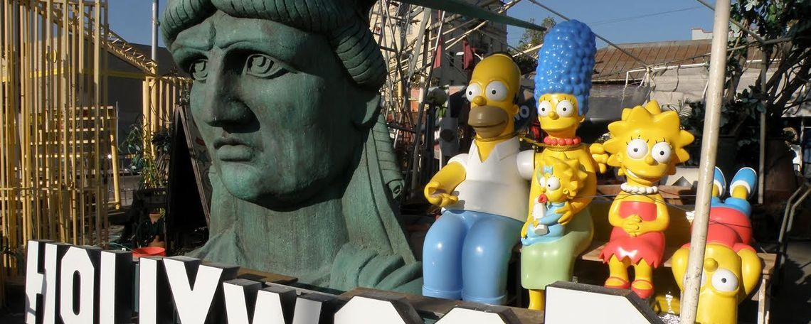 liberty with simpsons