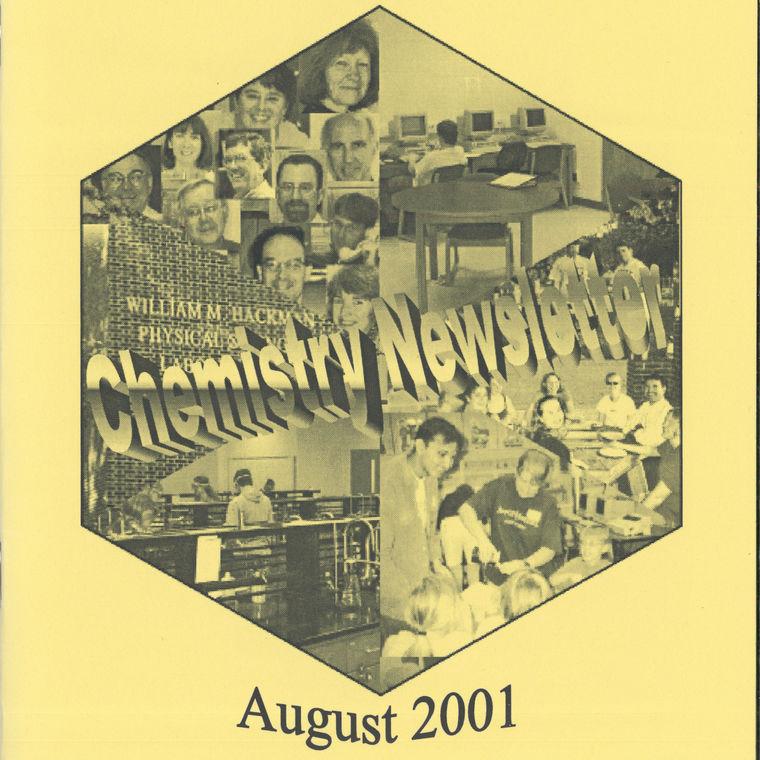 2001 Chemistry Newsletter Cover