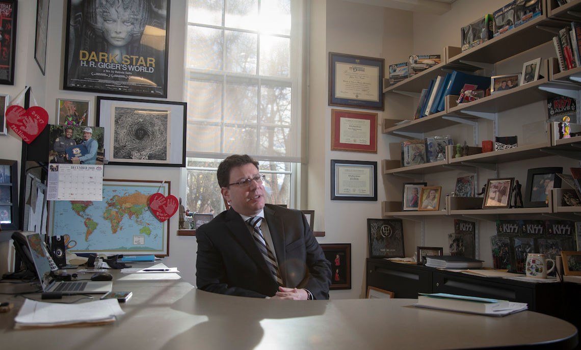 Marketing Professor Podoshen, whose research examines dark tourism and death consumption, is working with a Canadian team on strategies terrorists use in recruitment videos.