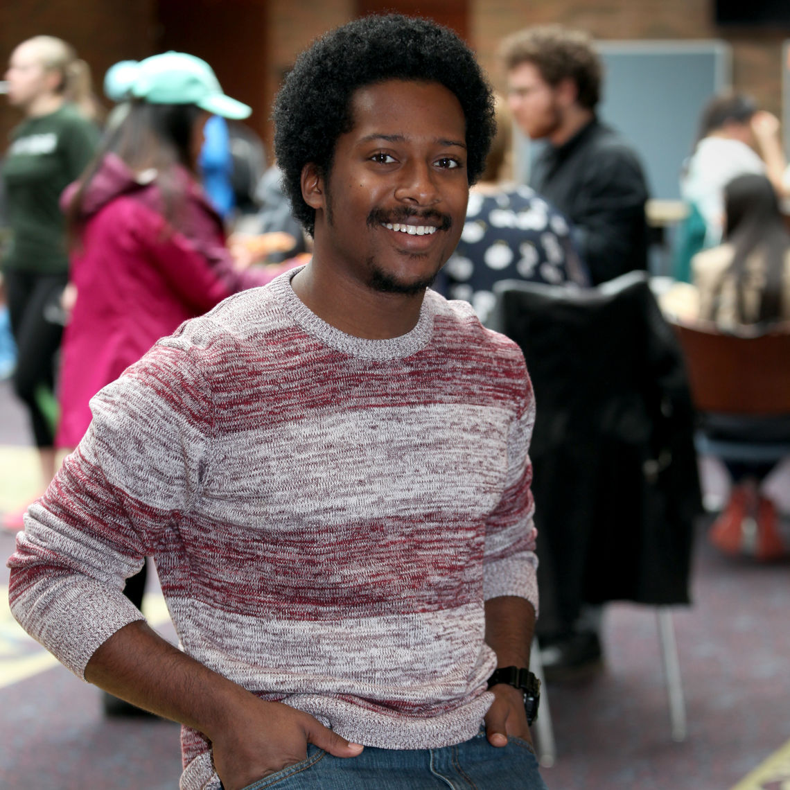 """""""I loved meeting new people from all over the nation and all around the world,"""" Rutledge says of his F&M experience. """"College was a space where we could all come together and learn from one another."""""""