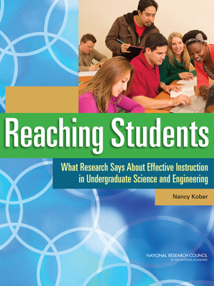 reaching students book cover