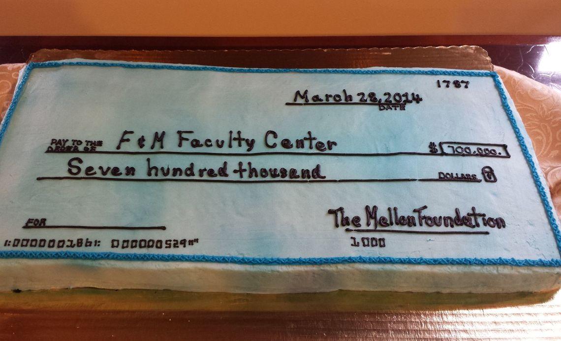 Faculty Center Mellon Grant Award