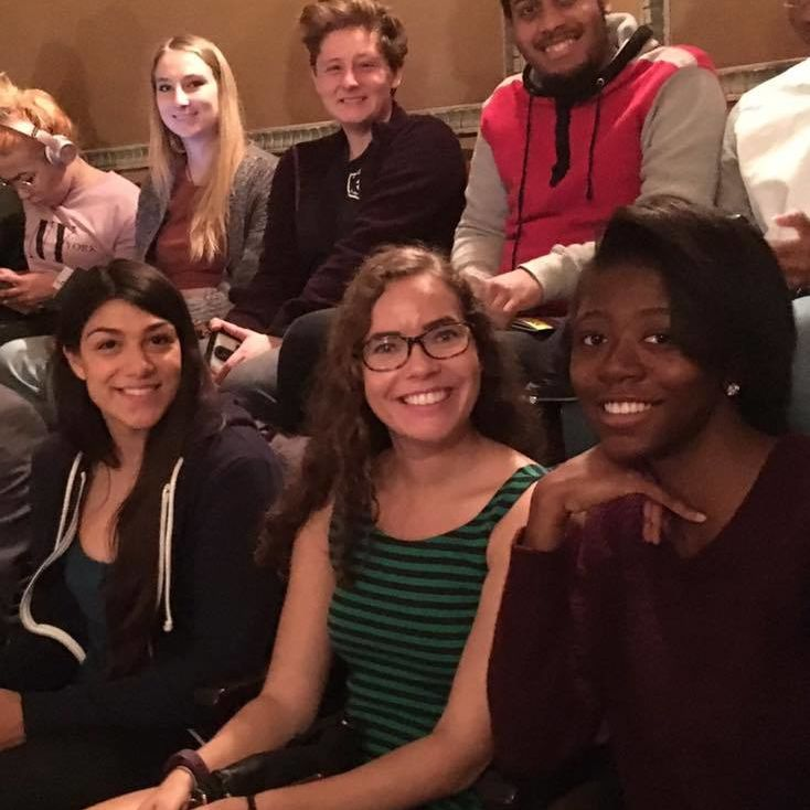 Writers House members out to see The Color Purple 11/6/16