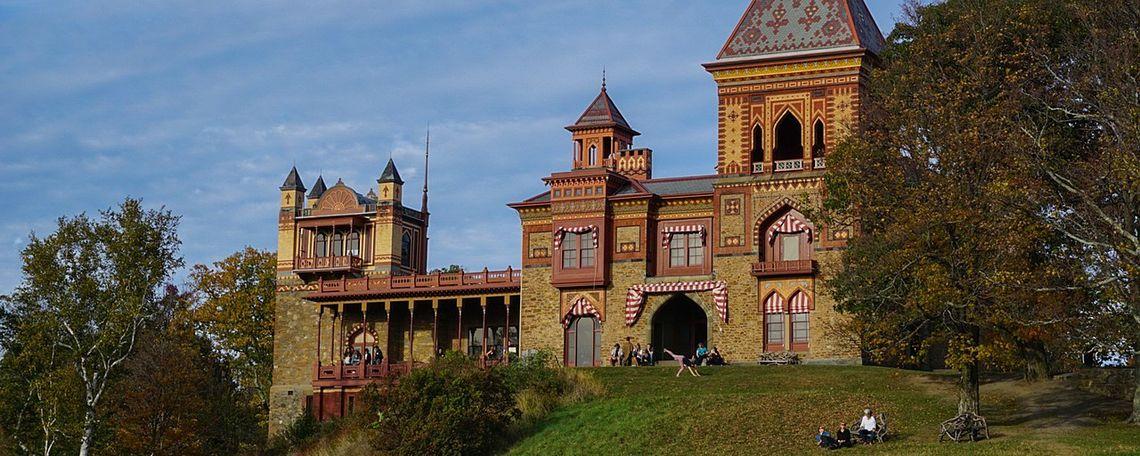 Frederic Edwin Church's former home, Olana.