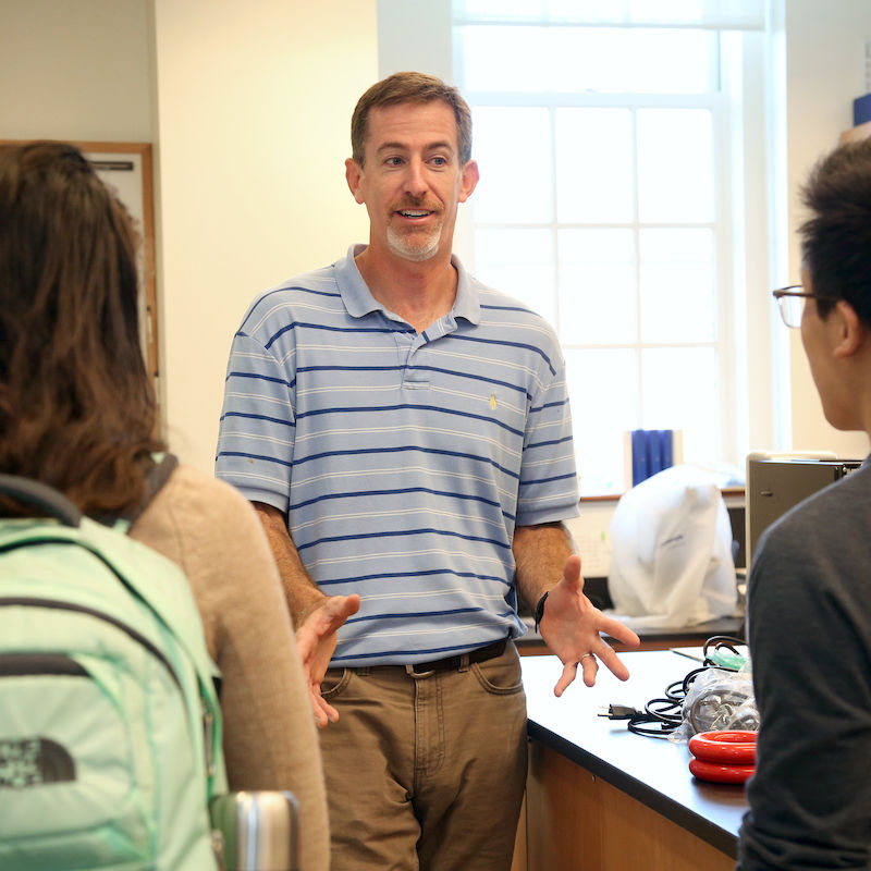 Associate Professor of Biology and Chair Biological Foundations of Behavior Joe Thompson.