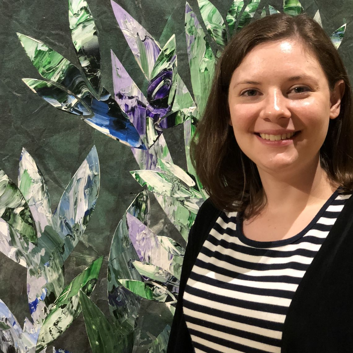 Alexis (Daddio) Breinich is the new assistant at the Phillips Museum of Art.