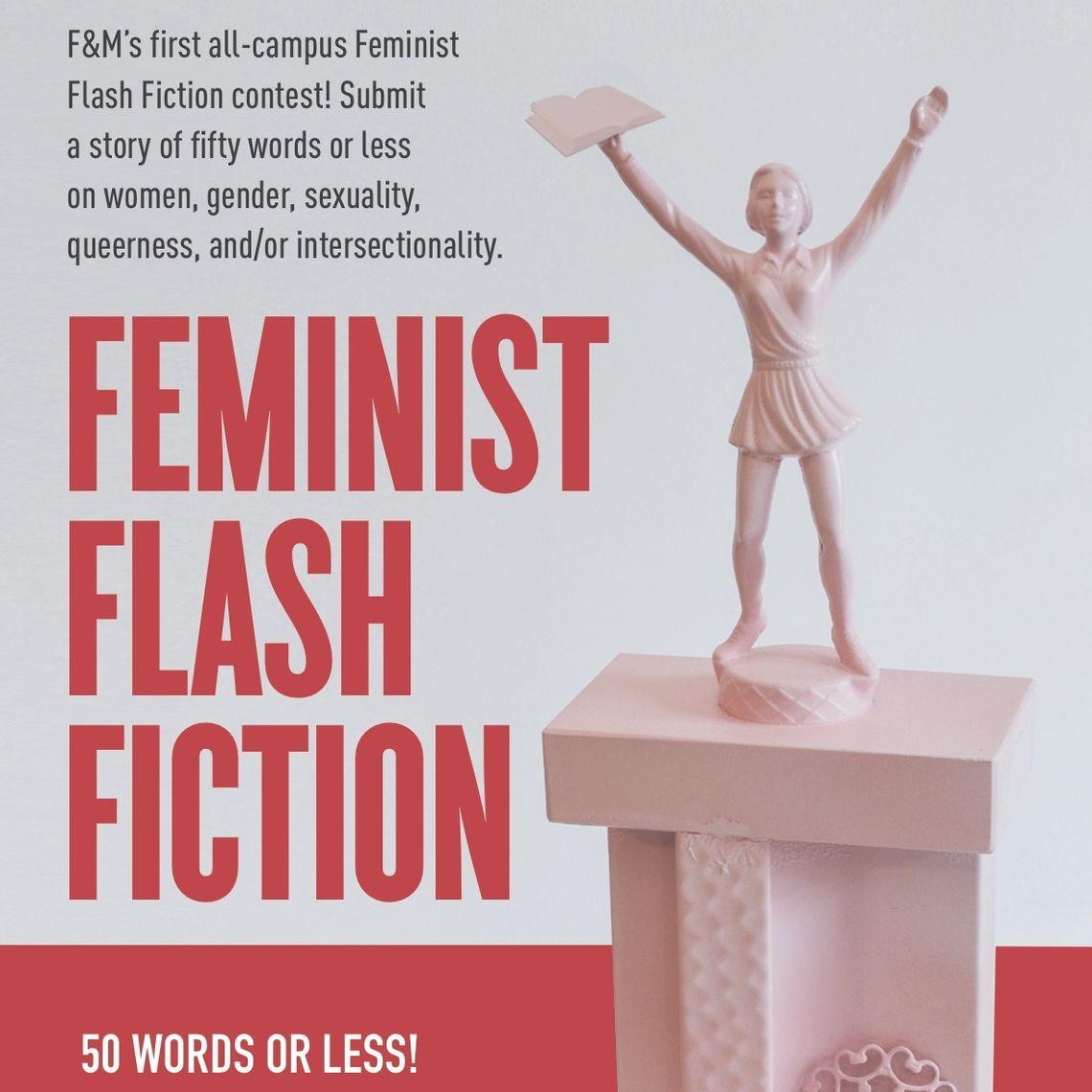 feminist flash fiction contest poster