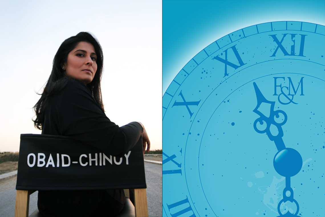 Sharmeen Obaid-Chinoy 37th Mueller Fellow,  Academy Award and Emmy Award winning documentary filmmaker