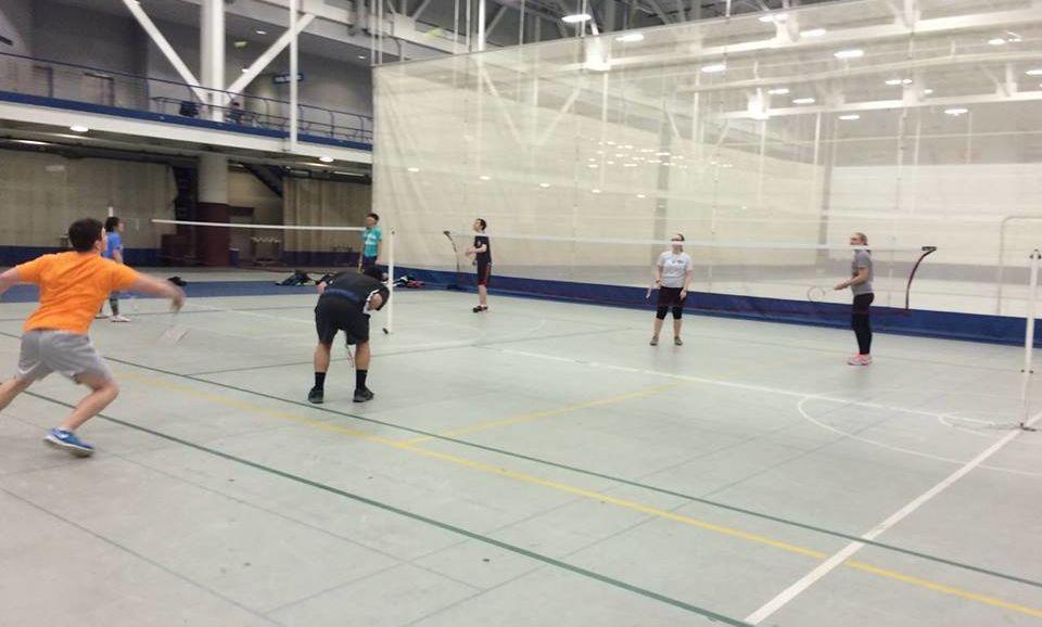 badminton club marquee