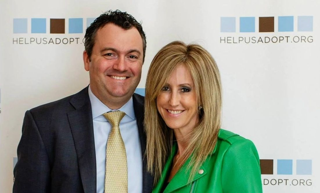 Becky Fawcett '92 and her husband, Kipp Fawcett '93.