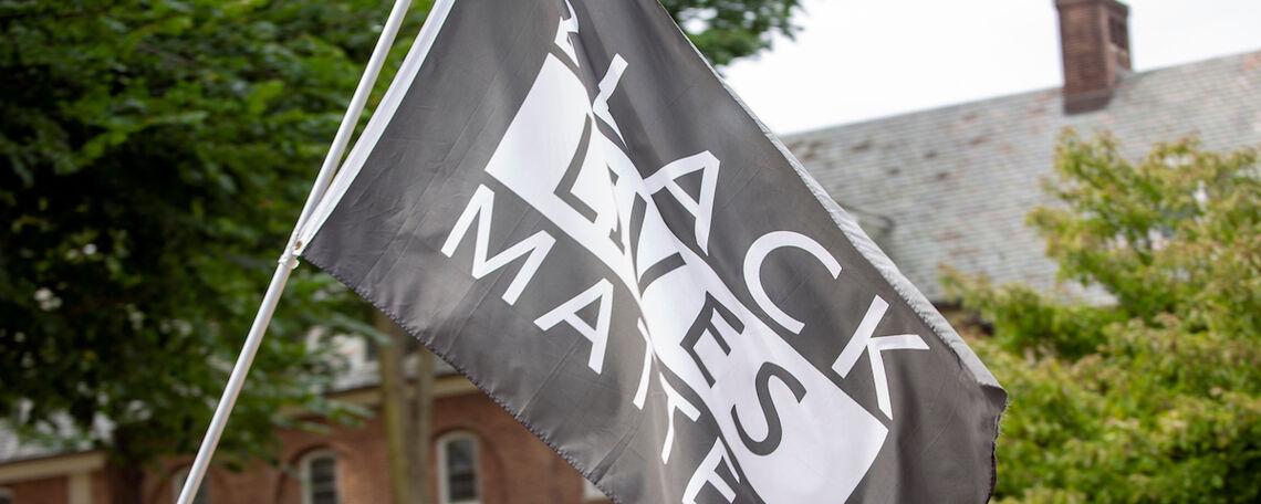 Black Lives Matter March on Franklin & Marshall Campus, Sept. 9, 2020