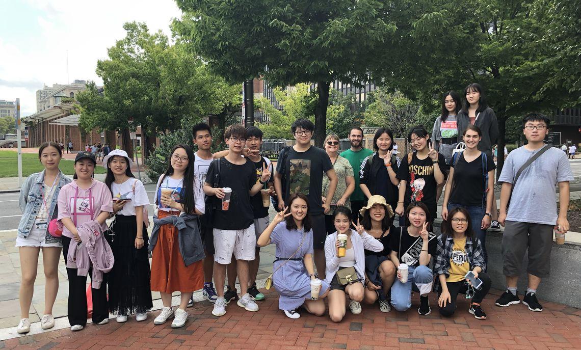 2019 IEP participants enjoy a trip to Philadelphia