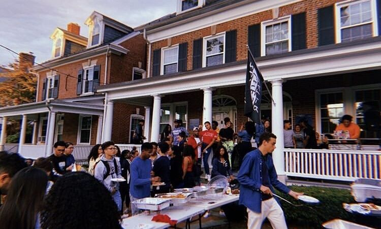 The Black Student Union hosts a cookout every semester at the Black Cultural Center