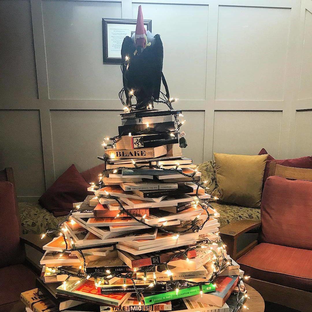 The original Bookmas tree! 11/30/17