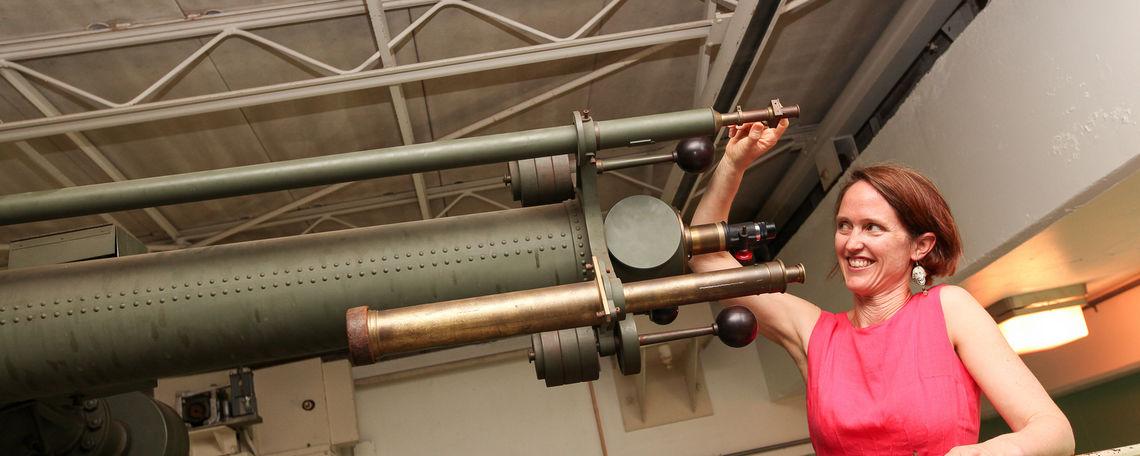 Lommen Clark Telescope