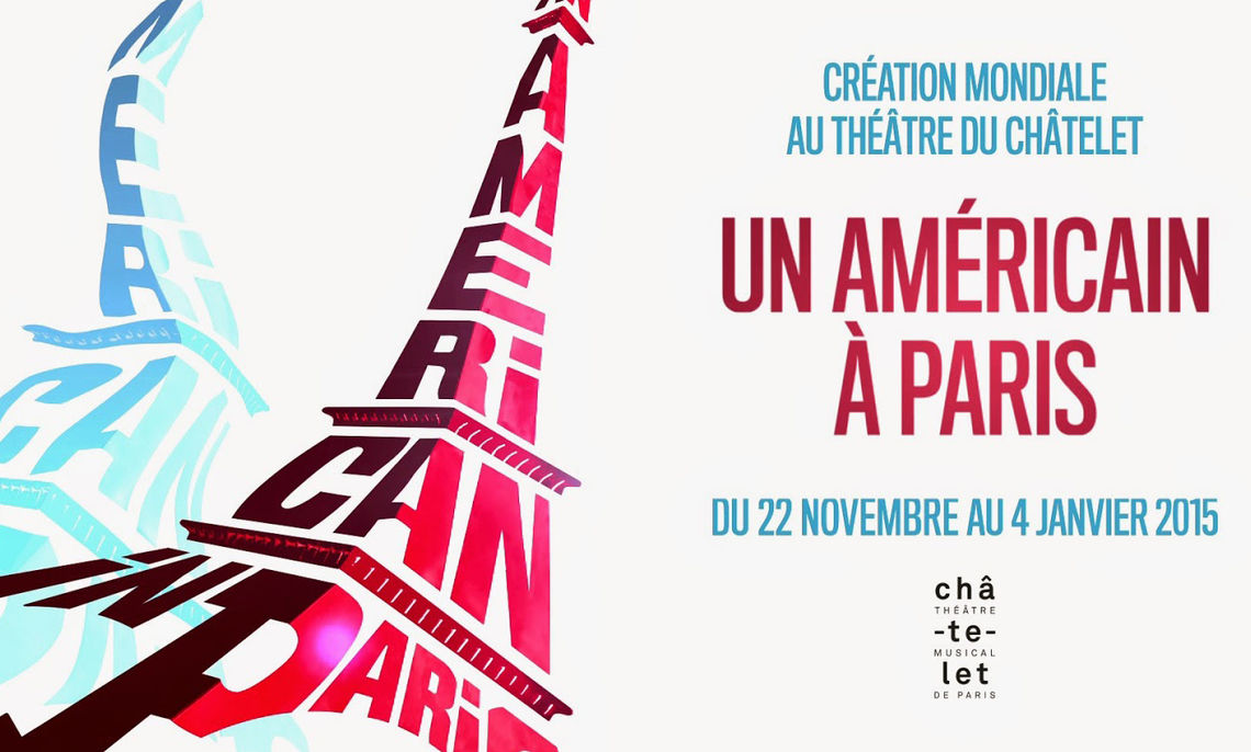"""While students at home watch the 53-year-old film version of """"An American in Paris,"""" the students abroad attend the Paris opening of a new stage production based on the film."""