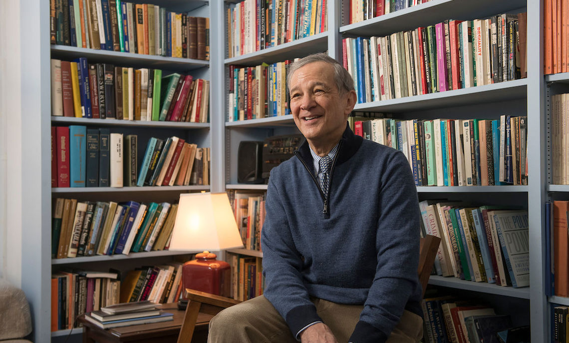 Sociology Professor Joel Eigen's 34 years of research on English medical diagnoses and insanity trials from the 18th to the 20th century produced three acclaimed books.